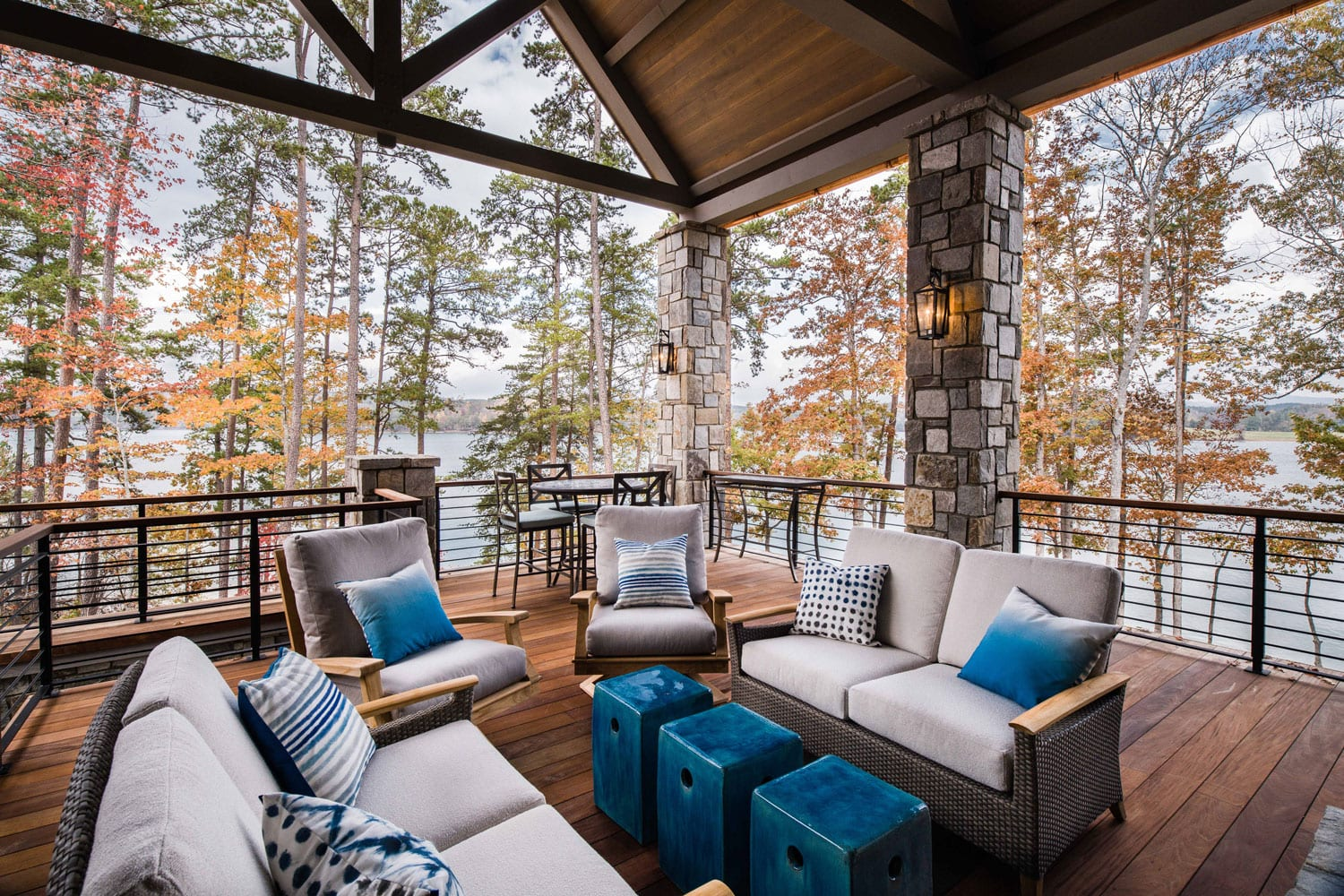 Outdoor Living - The Mullen Residence in the Cliffs at Keowee Springs